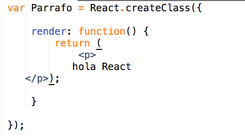 Sublime React