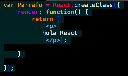 Sublime React HighLigth